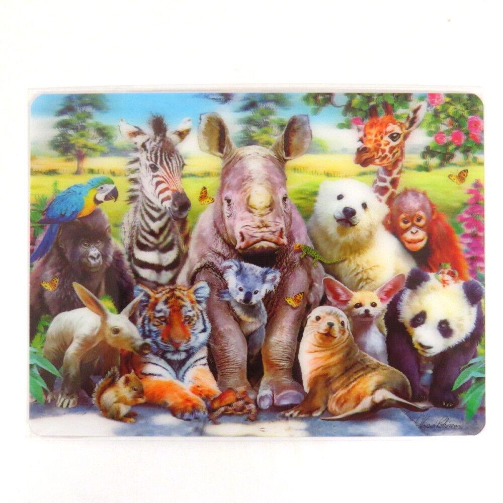 Set: Albert Einstein Tongue Postcard 6x4 inches and 1x 1art1/® Surprise Sticker