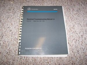 details about 1988 1990 mercedes benz 190e 190d 201 electrical wiring diagrams manual 1989 mercedes w211 wiring-diagram 201 mercedes benz wiring diagram #11