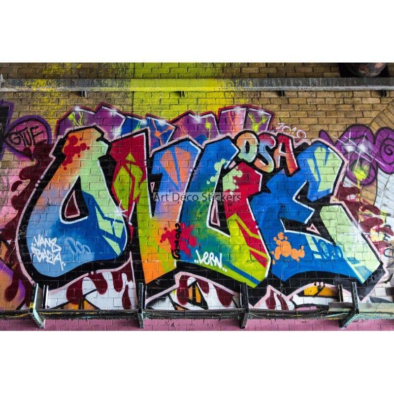 Stickers muraux déco réf Tag graffiti réf déco 11128 11128 b84a48