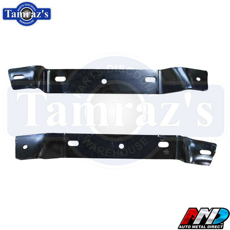 68-69 Charger Front Rear Bumper Mounting Bracket Support Complete Set AMD