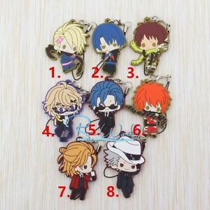 Anime TouHou Project Rubber Strap Keychain KeyRing Bag Pedant Charm Cosplay Gift
