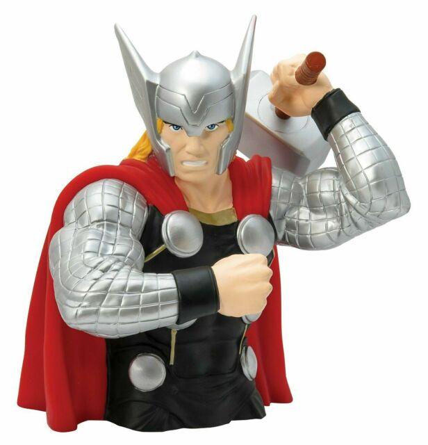 Marvel Comics Loki Figure Statue Bust Licensed Piggy Coin Bank