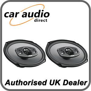 Hertz Uno X690 4 Way 6 X9 Car Audio 4w Coaxial Speakers Door Rear