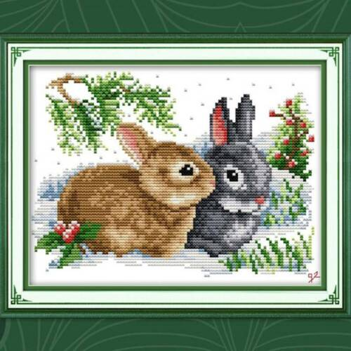 Needlework Set Embroidery Cross Stitch Cartoon Cross Stitch Kits Supplies MH