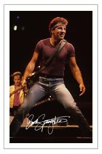 BRUCE SPRINGSTEEN AWESOME SIGNED AUTOGRAPH PHOTO PRINT THE BOSS