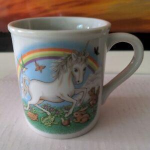 Papel California Unicorn and rainbow Mug made in Japan