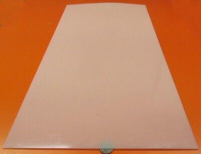 "Polyethylene 1//16 8 Units Thick x 12/"" Wide x 24/"" Long Sheet Black,.062 HDPE"