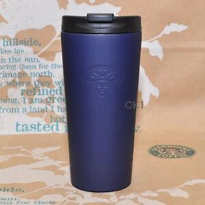 Starbucks-Logo-Tumbler-Navy-16-oz-Siren-Edelstahlbecher-Marineblau-blue-bleu