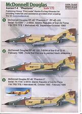Print Scale Decals 1/72 IRANIAN AIR FORCE MCDONNELL DOUGLAS F-4 PHANTOM II