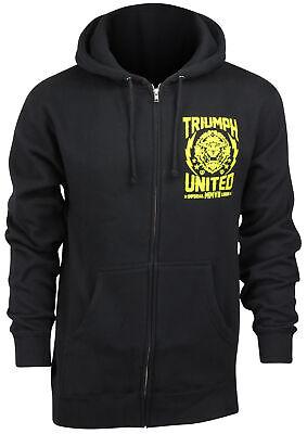 Triumph United Mens Lionman Hoodie Black