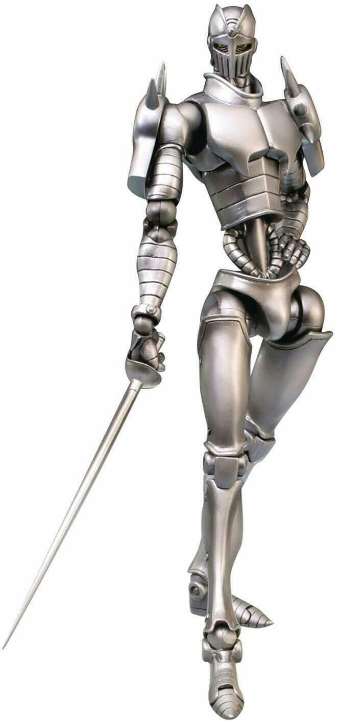 Medicos Super Action Statue JoJo PartIII The Silber Chariot 16cm Figure