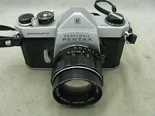 Pentax Spotmatic w/ 55 mm 1.8 Super Takumar lens  FOR PARTS REPAIR OR DISPLAY