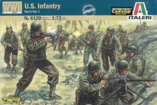 U.S Italeri 6120 Weltkrieg Infanterie 2 1:72