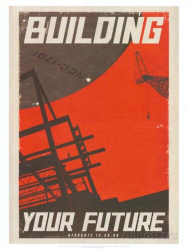 Star Trek Movie Building Your Future Poster Print Mini Poster Print, 18x24