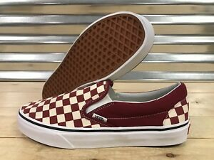 f3bdb2348f36 Image is loading Vans-Classic-Slip-On-Skate-Shoes-Checkerboard-Rumba-