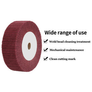 4-034-12-034-Non-Woven-Grinding-Flap-Wheel-Buffer-Polishing-Metal-Abrasive-Tool-320
