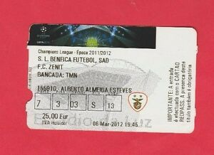 Orig-Ticket-Champions-League-2011-12-BENFICA-LISSABON-ZENIT-ST-PETERSBURG