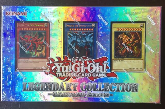Toy YuGiOh LEGENDARY COLLECTION Gameboard Edition Gods Cards LC01