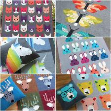 Elizabeth Hartman quilt patterns - Lisa the unicorn, frances firefly & more!