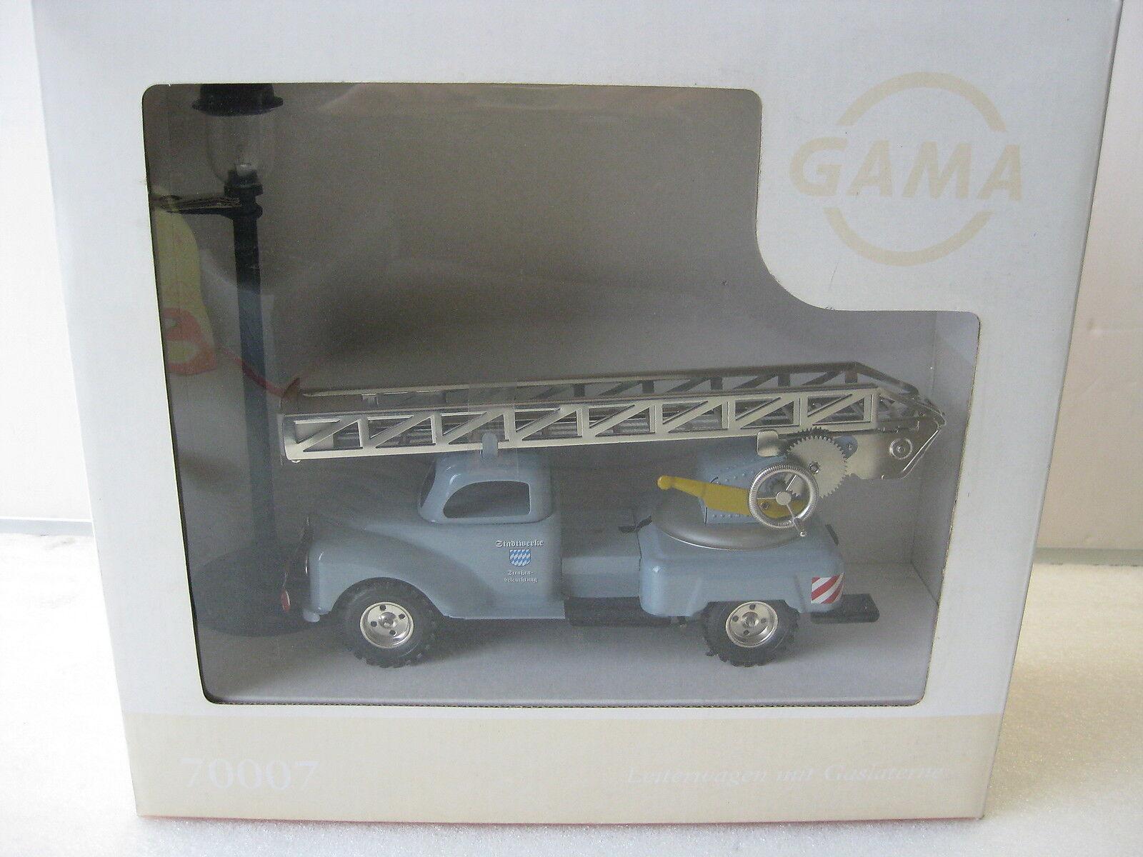 GAMA   70007 en tôle TINPLATE échelles voiture Drehleiter Replica