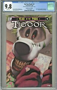 Do You Pooh #1 CGC 9.8 Unknown Comics Edition YOTV Joker Homage LTD to 50 Tiggor
