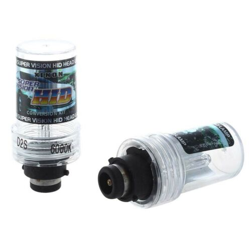 2 X D2S HID Xenon Bulb Lamp 35W 6000K 3200LM White For Car N3K7