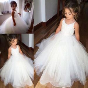 17402e8d4c794 Image is loading 2018-Fille-Communion-Bal-Soiree-Princesse-Miss-Mariage-