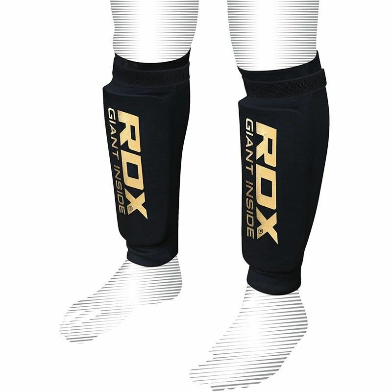 RDX Shin Guards for MMA Kickboxing Martial Arts Pads Fighting Leg Protector