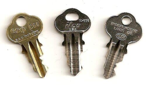 BRAND NEW TOP MECHANISM LOCK KEY FOR 1947-1960 PARK-O-METER POM PARKING METERS