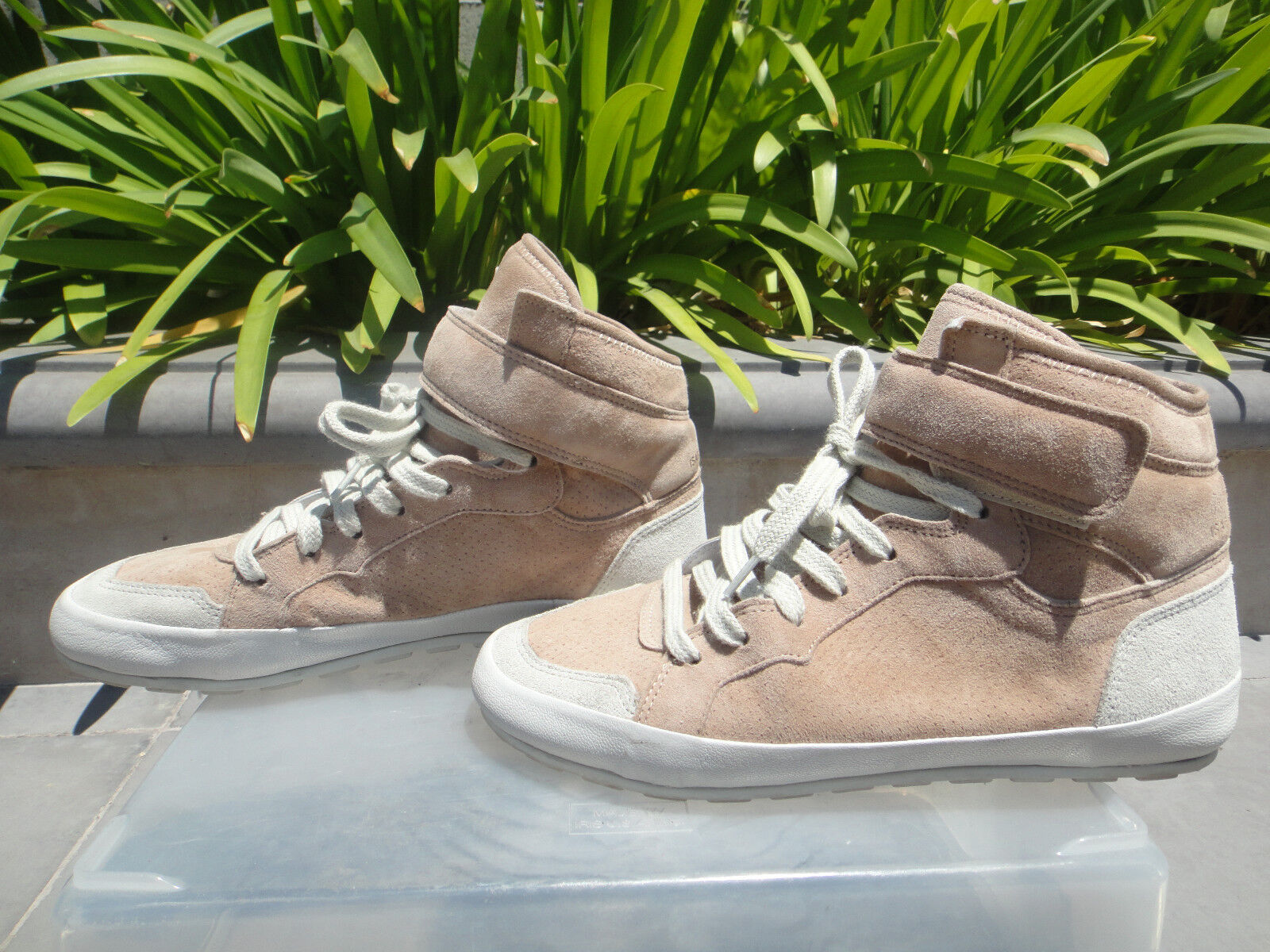 Isabel Marant Étoile BESSY Antique Pink Suede Leather Sneakers, EUR37, Portugal