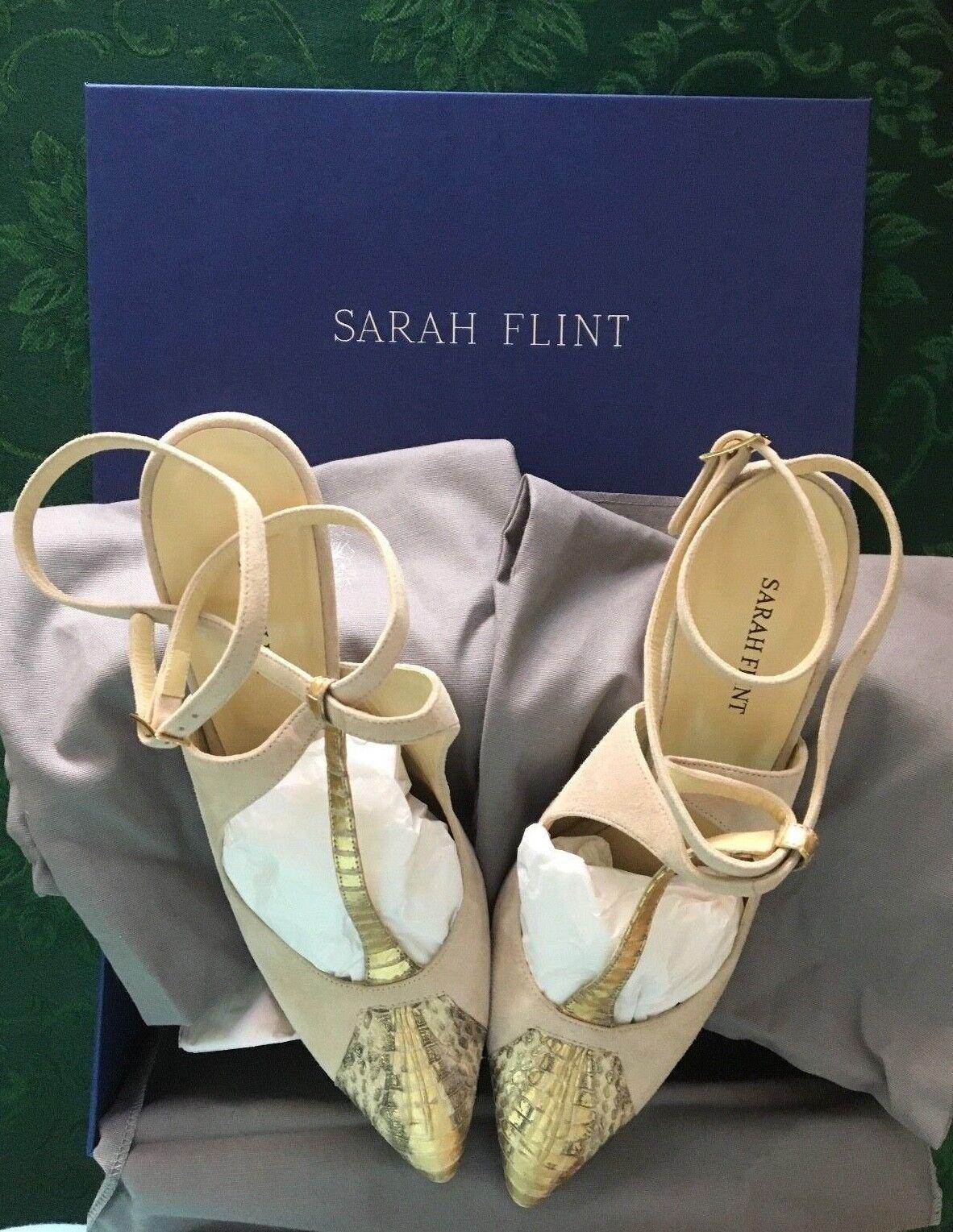Sarah Flint Sandal Nancy Tee Strap Sandal Flint EUR 39.5 32ec61