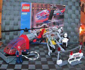 LEGO-Spiderman-Set-4858-u-BA-inkl-3-Figuren-RAR-TOP