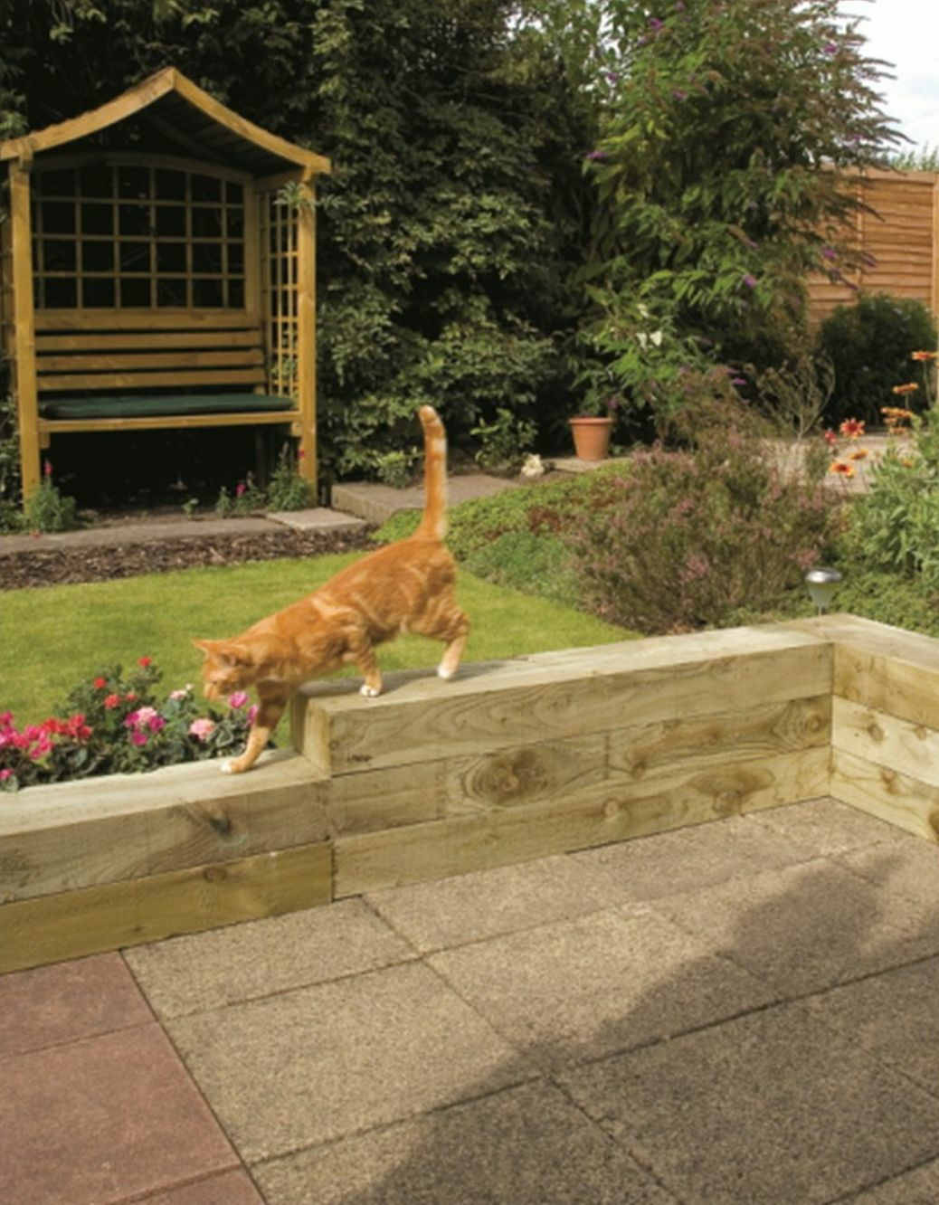 Details about Timber Sleepers Railway Sleepers Treated Wooden Sleepers  200x100mm & 250x125mm