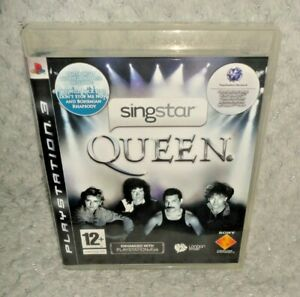 Singstar Queen PS3 Game GAME ONLY