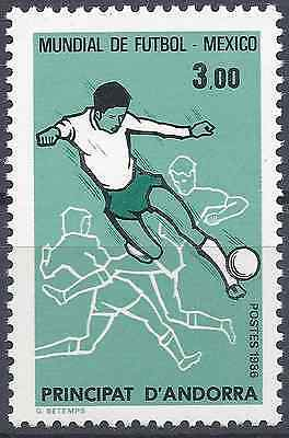 Andorra FrancÉs Nº350 Copa Del Mundo De FÚtbol 1986 Neuf Luxe Mnh High Quality And Low Overhead Europe Andorra