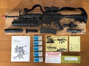 MGC-CAP-FIRING-REPLICA-MODEL-Colt-M4A-Replique-Carabine-Airsoft-Paintball