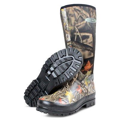 Metodico Dirt Boot ® Neoprene Wellington Muck Boot Caccia Mimetico-mostra Il Titolo Originale