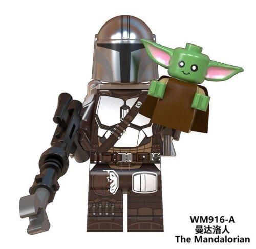 Simil LEGO The Mandalorian Star Wars Baby Yoda Compatibili Minifigures New