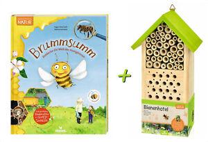 Expedition Natural Bienenhotel + Libro Brummsumm Descubre La Mundo El Honigbiene
