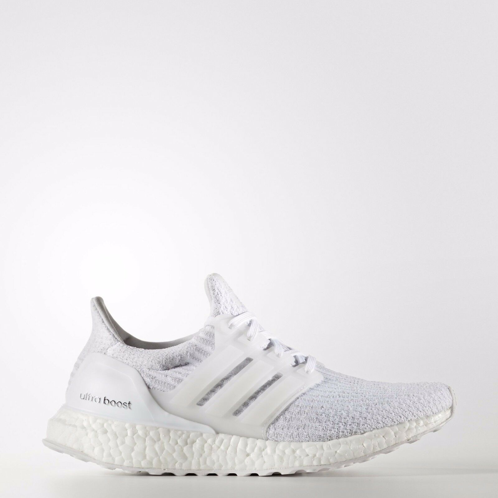 Adidas Originals Women's Ultra Boost 3.0 in White/Crystal White BA7686 Free Ship