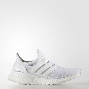 4772f4f99939c Adidas Originals Women s Ultra Boost 3.0 in White Crystal White ...