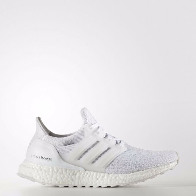 614d4b7973480 Adidas Originals Women s Ultra Boost 3.0 in White Crystal White BA7686 Free  Ship