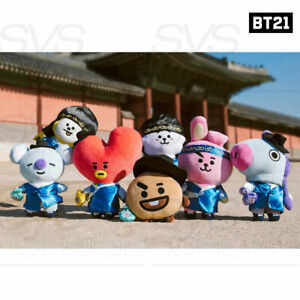 BTS BT21 Official Authentic Goods HANBOK Ver Standing Doll + Tracking Number