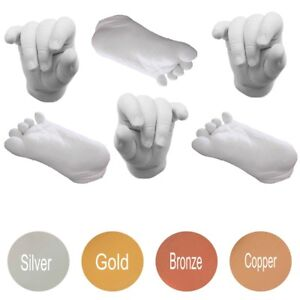 Deluxe 3D Baby Casting Kit - Hand & Foot Print Casts Sculpture Keep Sake Gift