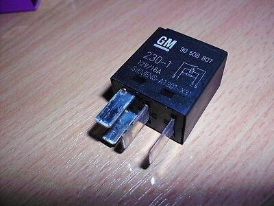 Gm Siemens//Tyco Relé 90508807 A1301-X31 V23074 £ 2.95 cada uno