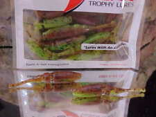 "Lake Fork 2 1//4/"" LBS Live Baby Shad Model 2500-366 in WATERMELON//CHARTREUSE"