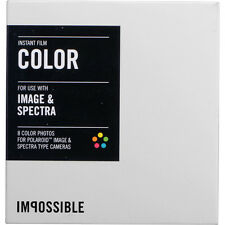 Impossible Color Instant Film for Spectra / Image White Frame, 8 Exposures 2787