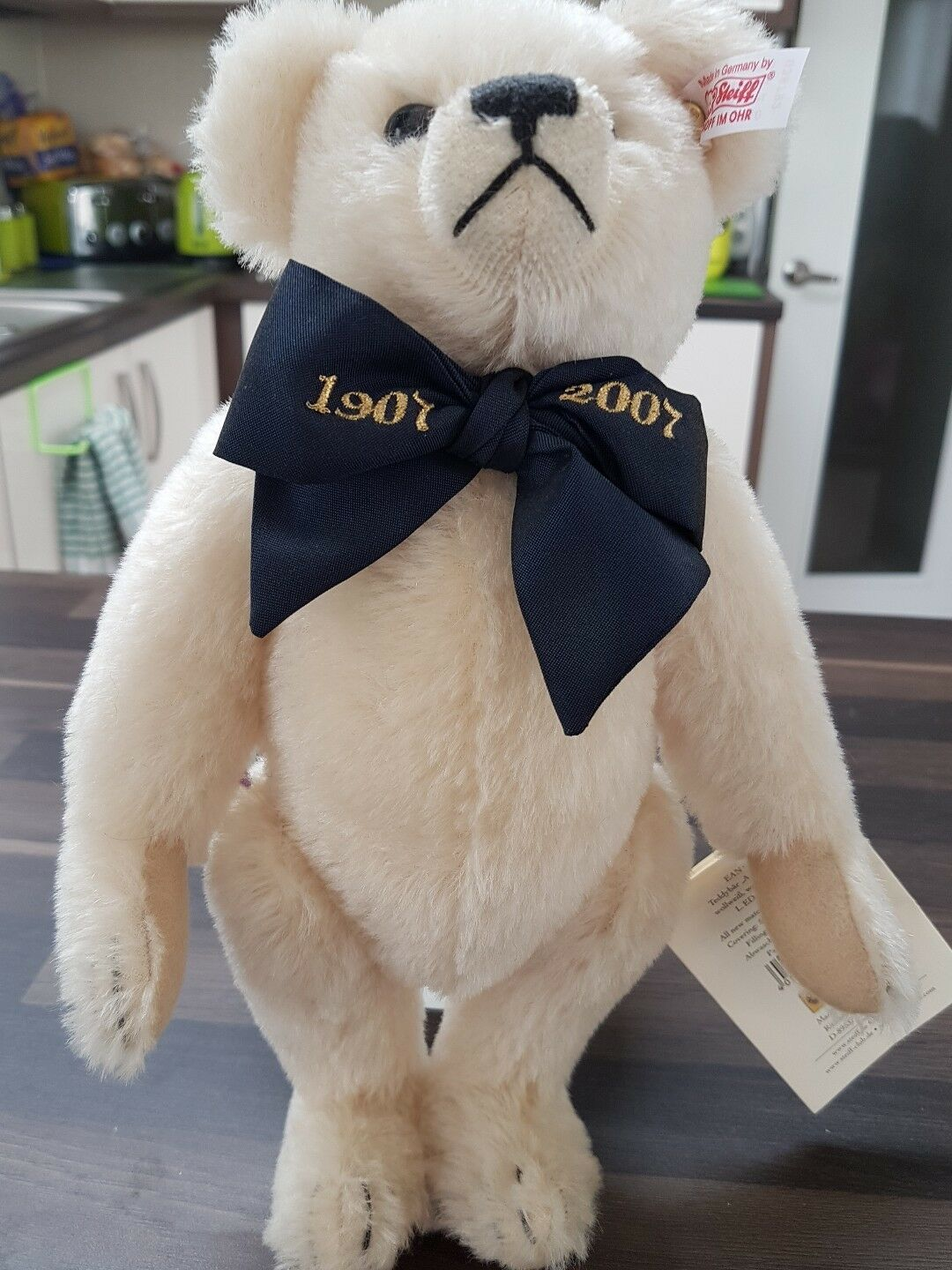 Steiff collectible bear 1907 to 2007