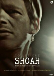 Collezione-Shoah-Cofanetto-3-Dvd-Nuovo-Sigillato