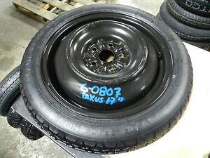 2013 2014 2015 Lexus Es300h Spare Tire Wheel Donut 17